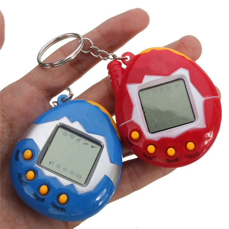 Hot sales Top Quality Pink Blue Retro Virtual Pet 49 In 1 Cyber Pets Animals Toy Funny Kids Gift New