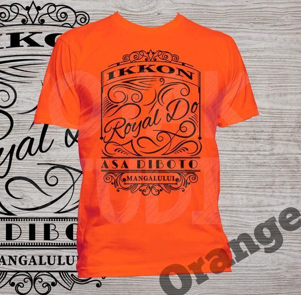 "Kaos Batak ""Ikkon Royal Do"" (versi kaos terang)  Via Bukalapak, klik gambar untuk order/warna lainnya"