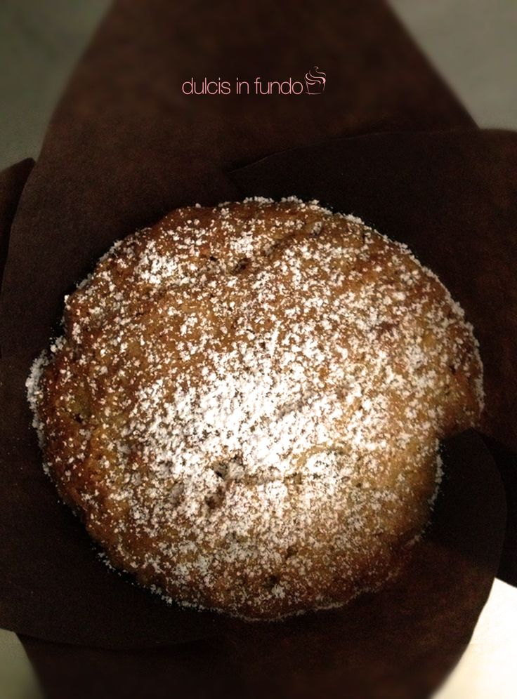Muffin con cioccolato bianco  More di Gelso BIO by dulcis in fundo