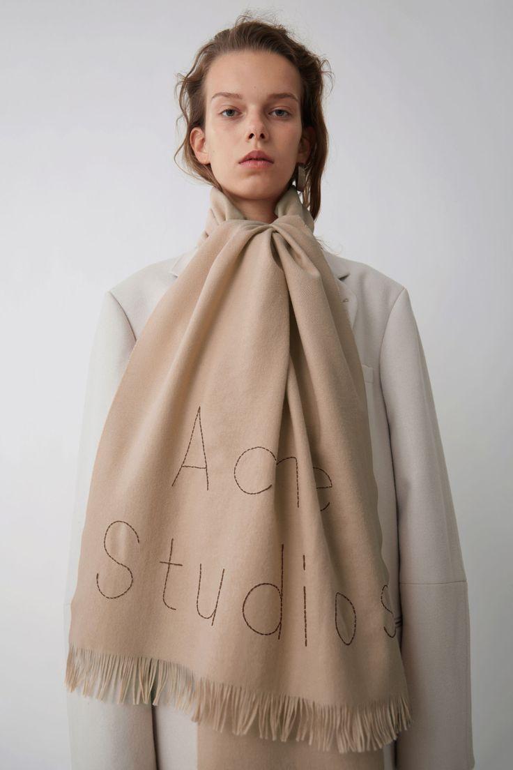 Acne Studios Ontario Camel Melange #scarfs #winterscarf