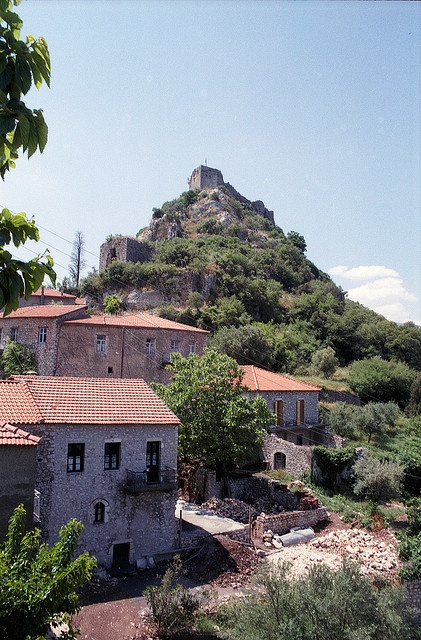 Karytaina village in Arcadia region (Peloponnese) #Greece