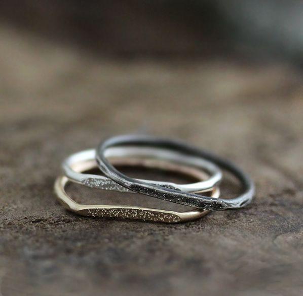 Signet Stardust Ring by Andrea Bonelli