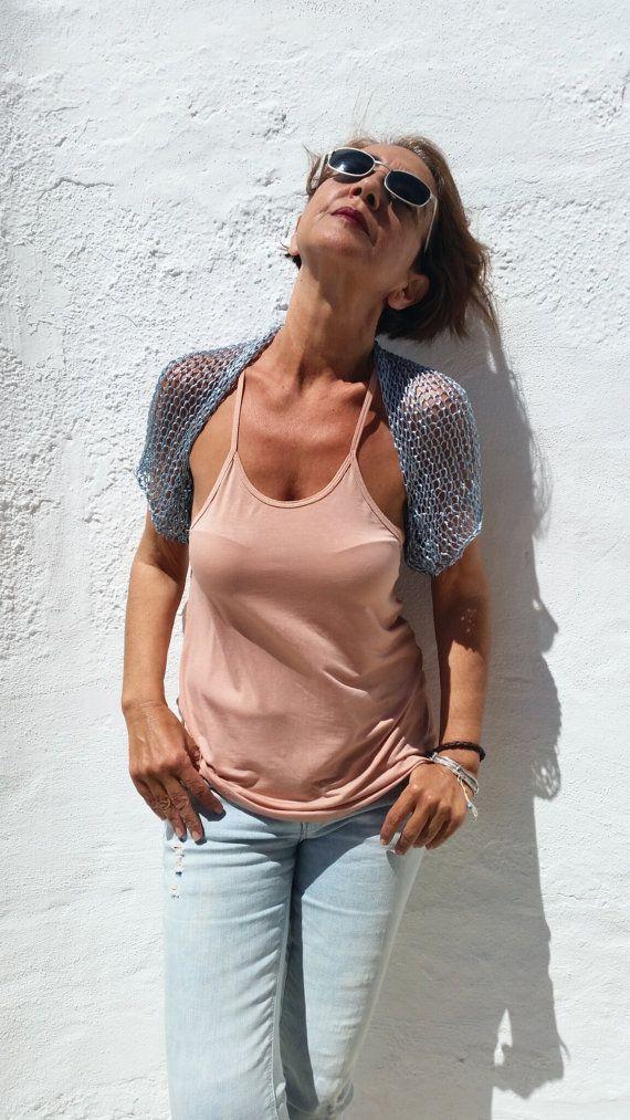 Metallic bolero, metallic clothing so trendy por EstherTg