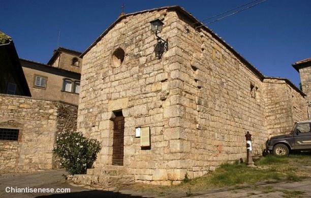Chiesa di San Lorenzo ad Ama - Gaiole in Chianti