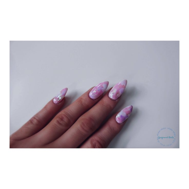 A personal favourite from my Etsy shop https://www.etsy.com/uk/listing/558752391/unicorn-angel-paper-effect-nail-set