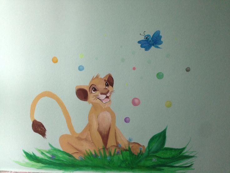 Falra kis oroszlán
