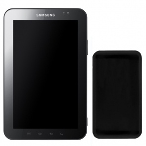 Husa Celly Sily99 Black pentru Samsung Galaxy Tab P1000