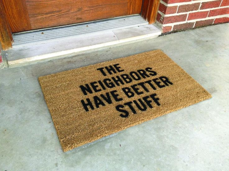 Knock, Knock. Who's There? 20 Hilarious Welcome Mats