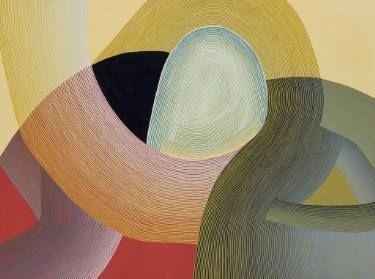 "Saatchi Art Artist Jenny Kemp; Painting, ""Slow Crown"" #art"