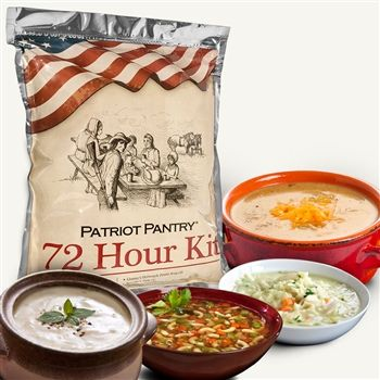 $124 for all 5 of us The Patriot Pantry sample kit provides 72 hours worth of food for short-term emergencies. Can be used to sample the most delicious, nutritious survival food available.