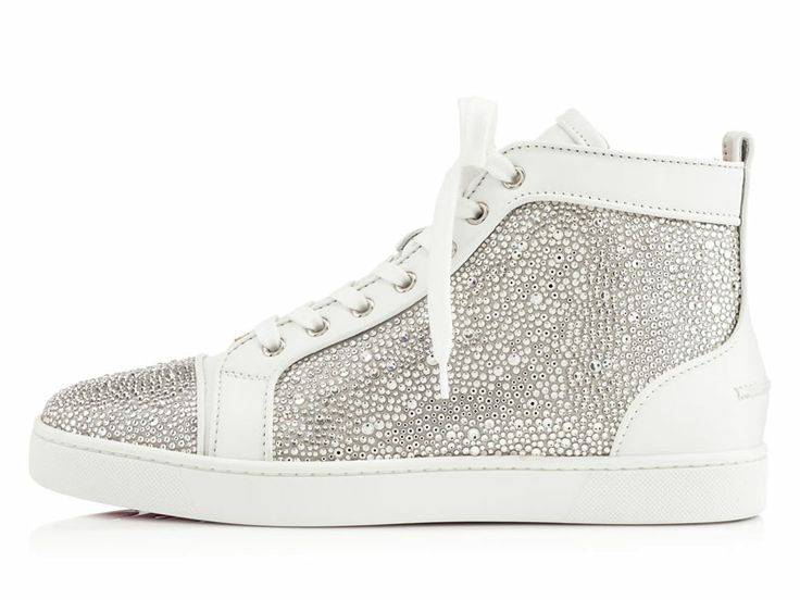 louboutin homme sneakers blanc