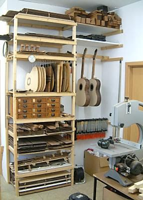 Ortganização de Oficina / The Luthiers Workshop
