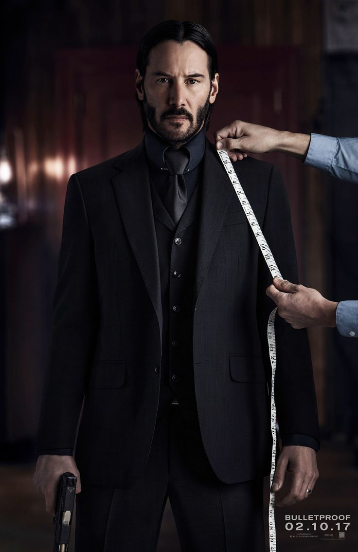 Luca Mosca (Costume Designer) Custom Made Three-Piece Suit as seen on John Wick in John Wick: Chapter 2 | TheTake