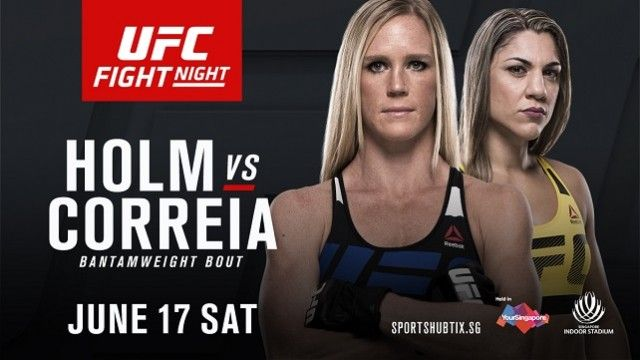 Watch UFC Fight Night 111: Holm vs. Correia 6/17/2017 Full Show Online Free