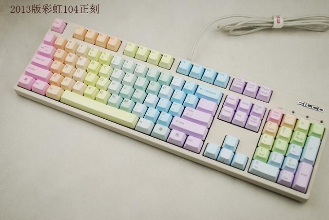Rainbow Keyboard | JORDAN :) | Pinterest