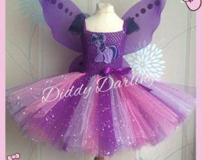 Twilight Sparkle vestido tutú. Inspiración por DiddyDarlings