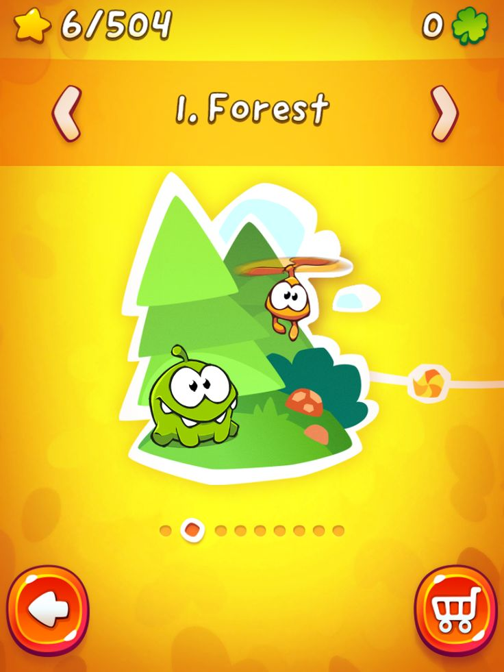 CUT the ROPE 2 | Map Selection | UI, HUD, User Interface, Game Art, GUI, iOS, Apps, Games, Grahic Desgin, Puzzle Game, Brain Games, Zeptolab | www.girlvsgui.com