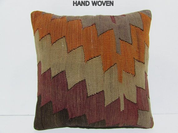 VIEW ALL KILIM PILLOWS http://www.etsy.com/shop/DECOLICKILIMPILLOWS  HAND WOVEN…