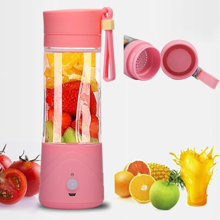 DZT968® Portable USB Electric Fruit Juicer