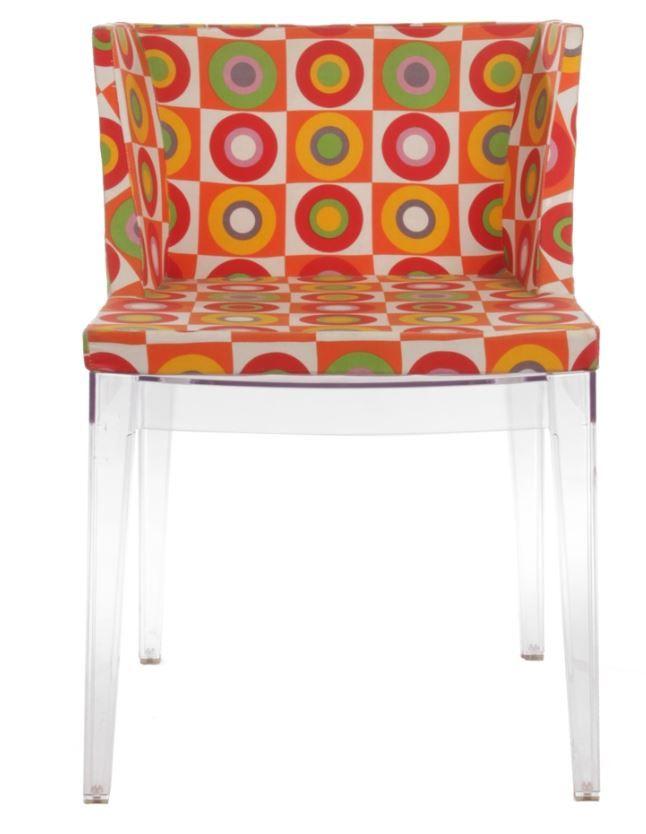 Replica Philippe Starck Mademoiselle Chair - Circle Pattern