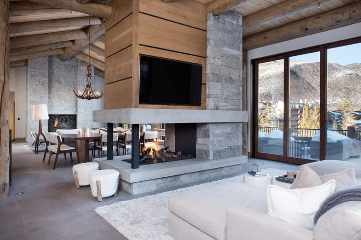 Vail Ski Hause By Reed Design Group Interior Pinterest Design Fireplaces And Australia