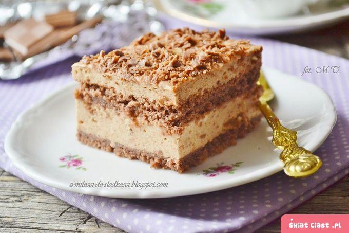 Ciasto czekoladowo - miętowe - Swiatciast.pl