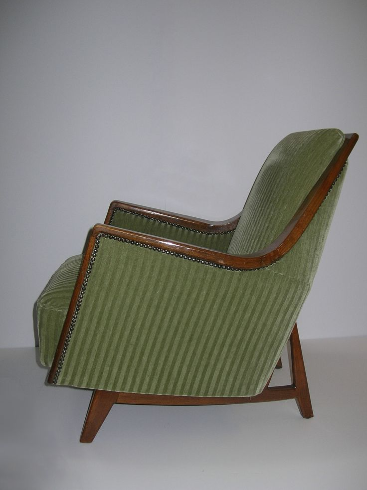 Art Deco Lounge Chair   I want this chair. 687 best Design  Furniture Envy images on Pinterest   Art deco