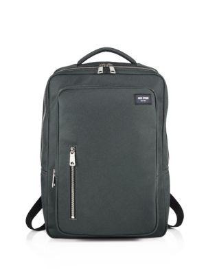 Jack Spade - Double-Pocket Solid Backpack