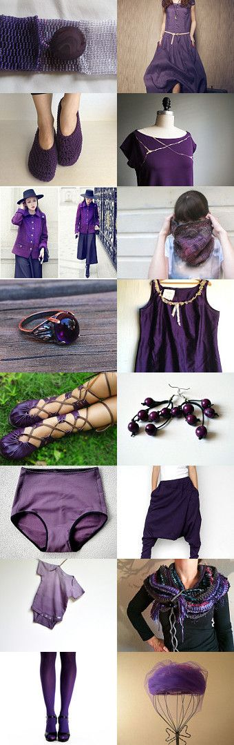 Wearing #purple by #plantedfeet on #Etsy--Pinned with TreasuryPin.com