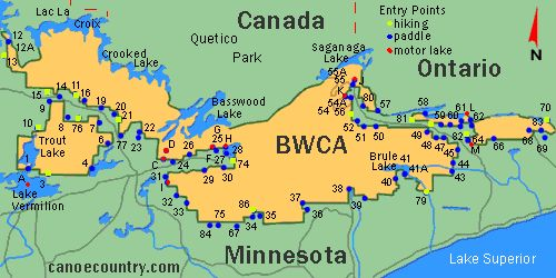 My Hub page for the Boundary Waters Canoe Area