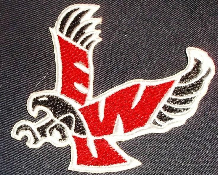 Eastern washington eaglesewe  logo iron on patch iron