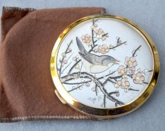 Original Chokin Art Collection Compact Japan Vintage