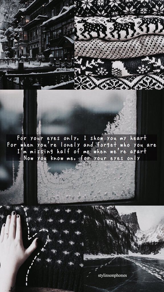 If I Could Fly Winter Lockscreen | ctto: @stylinsonphones