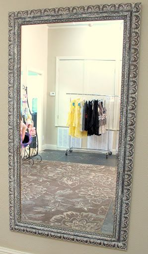 17 Best Ideas About Painted Mirror Frames On Pinterest