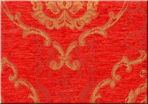 safir vörös barokk bútorszövet