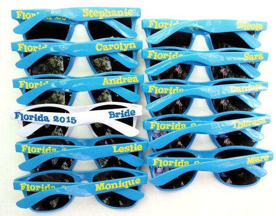 Gafas de sol personalizadas para boda, despedida de soltero, despedida de soltera, novia, novio, Dama de honor, padrino, vacaciones, fiestas favorece