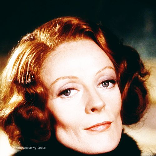"""Maggie Smith, """"Travels With My Aunt"""", 1972 <3"""