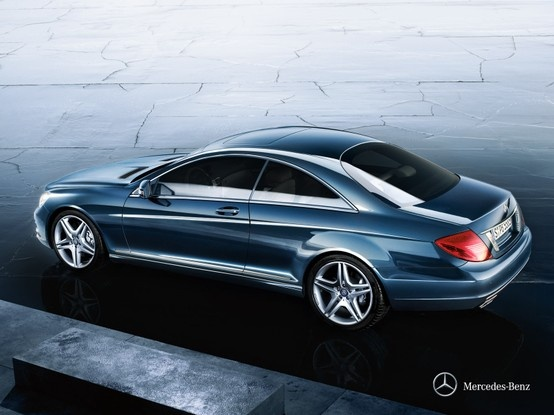 Mercedes-Benz CL-Class. The power of invention.