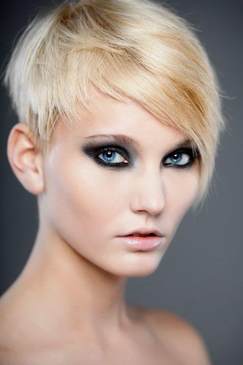 Asymmetrical Short Pixie Haircut