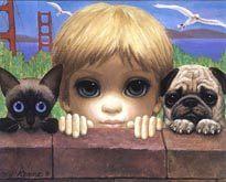 Keane Paintings Big Eyes