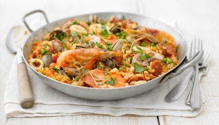 Paella : BBC - Food - Recipes
