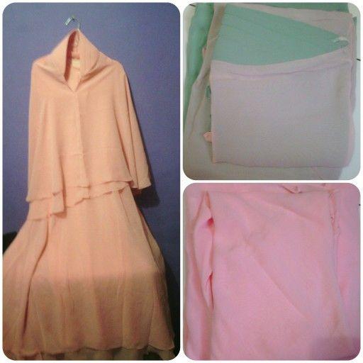 Gamis syar'i hijab included