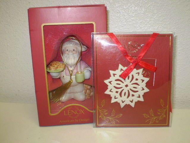 93 best lenox snowflake ornaments images on pinterest