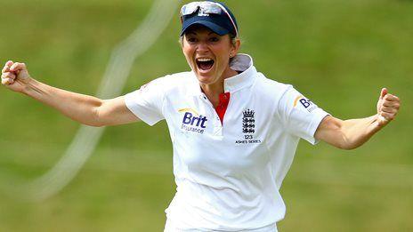 England cricket captain Charlotte Edwards