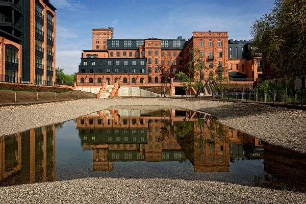 "Lodz ""At Scheibler's"" lofts is the first such a revitalization project in Poland, which aimed in conversion of the 19th century Karol Scheibler's spinning-mill into modern apartments in the postindustrial style. #lodz"