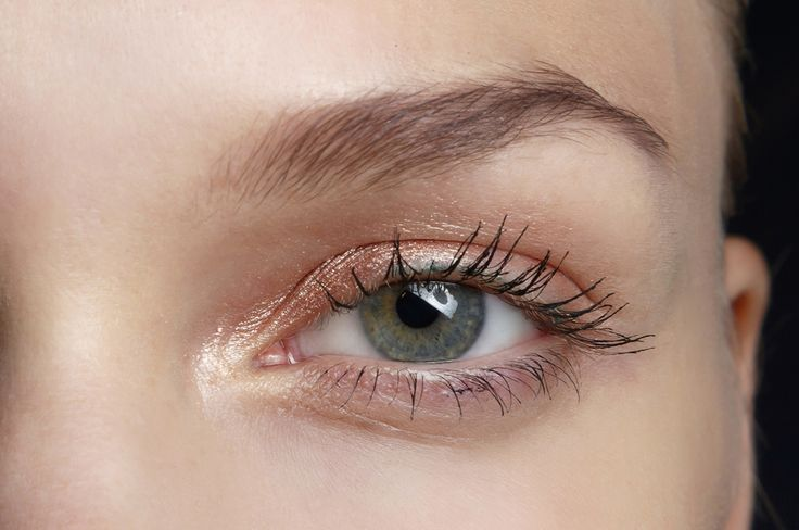 Pink Eyeshadow Is Your New Spring Look | Beauty HighA translucent shimmer of pink on your eyelids and underneath is the prettiest for a soft effect. It's flattering on pretty much anyone, given the right shade and best of all, super easy to do. You just dust a pale peachy pink shadow all over your eyelid and along your lower lashline, and then pop a champagne-colored highlighter in the inner corners for a bright-eyed look.  Read more: http://beautyhigh.com/pink-eyeshadow-looks/#ixzz3Wlv912P5