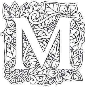 Mendhika Letter M_image