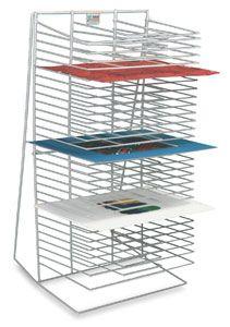 Awt Single Side Drying Rack In 2019 Art Storage Large