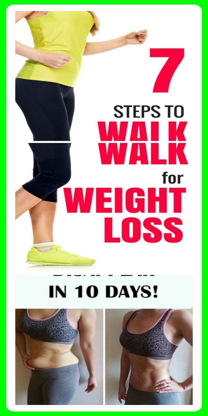 Walking For Weight Loss, 7 Steps To Shed Fat Quicker