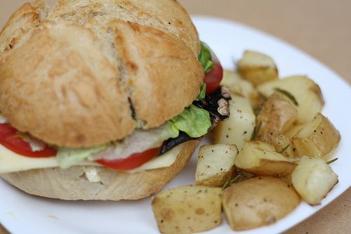 Hamburguesa vegetariana: Mantequilla con azúcar